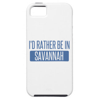 I'd rather be in Savannah iPhone 5 Covers