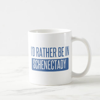 I'd rather be in Schenectady Coffee Mug