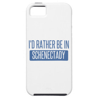 I'd rather be in Schenectady iPhone 5 Case