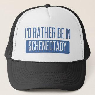 I'd rather be in Schenectady Trucker Hat