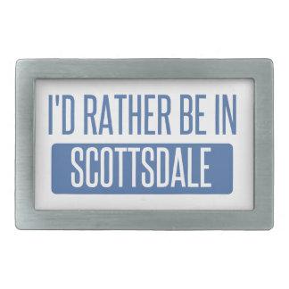 I'd rather be in Scottsdale Belt Buckles