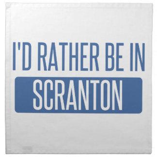 I'd rather be in Scranton Napkin
