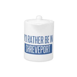 I'd rather be in Shreveport