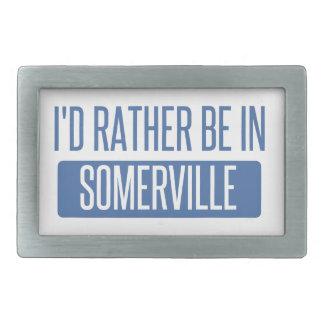 I'd rather be in Somerville Belt Buckles