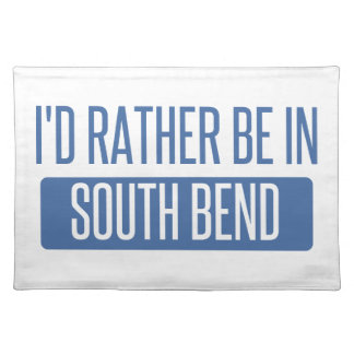 I'd rather be in South Bend Placemat