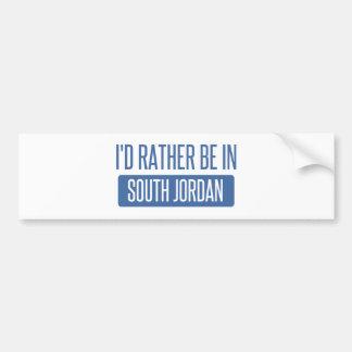 I'd rather be in South Jordan Bumper Sticker