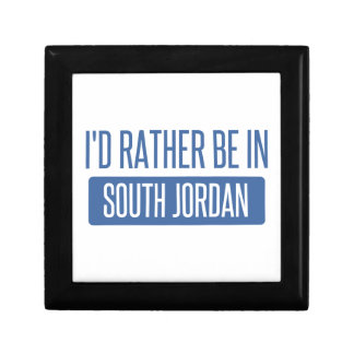I'd rather be in South Jordan Gift Box
