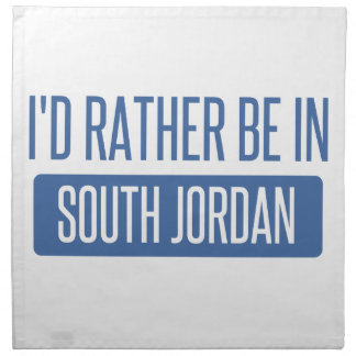 I'd rather be in South Jordan Napkin