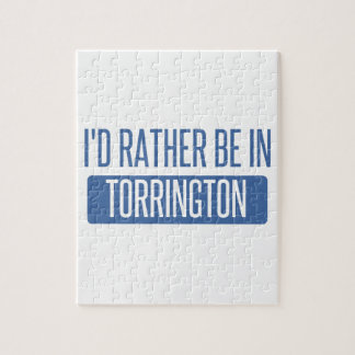 I'd rather be in Torrington Jigsaw Puzzle