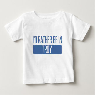 I'd rather be in Troy MI Baby T-Shirt
