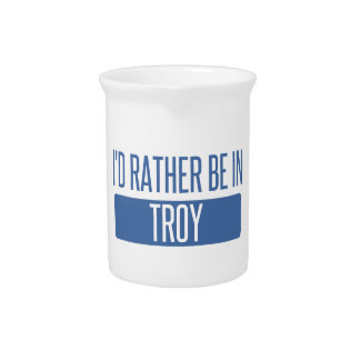 I'd rather be in Troy MI Pitcher
