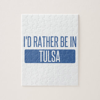 I'd rather be in Tulsa Puzzle