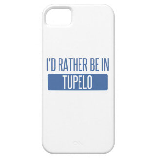 I'd rather be in Tupelo iPhone 5 Case