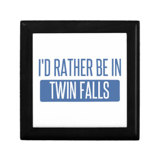 I'd rather be in Twin Falls Gift Box