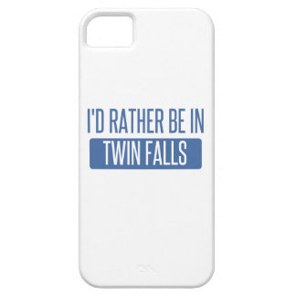 I'd rather be in Twin Falls iPhone 5 Cover