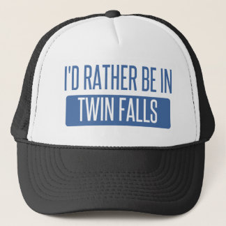 I'd rather be in Twin Falls Trucker Hat