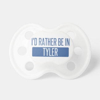 I'd rather be in Tyler Dummy