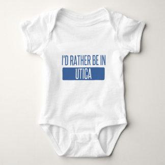 I'd rather be in Utica Baby Bodysuit