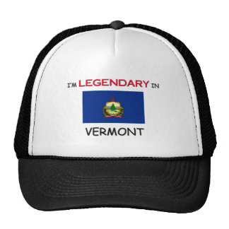 I'd Rather Be In VERMONT Trucker Hat