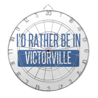 I'd rather be in Victorville Dartboard