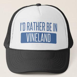 I'd rather be in Vineland Trucker Hat