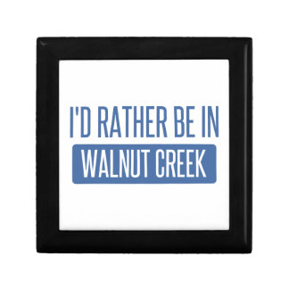 I'd rather be in Walnut Creek Gift Box