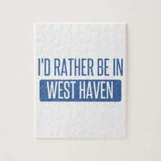I'd rather be in West Haven Jigsaw Puzzle