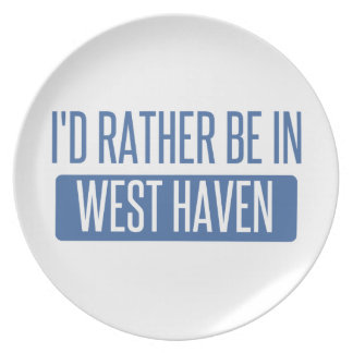 I'd rather be in West Haven Plate