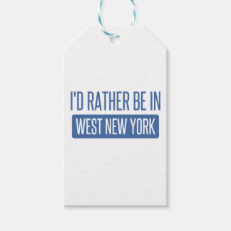 I'd rather be in West New York Gift Tags