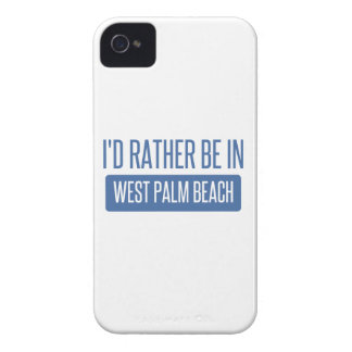 I'd rather be in West Palm Beach iPhone 4 Covers