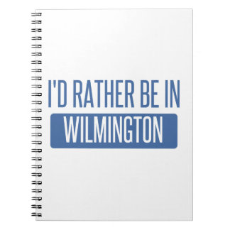 I'd rather be in Wilmington NC Notebook