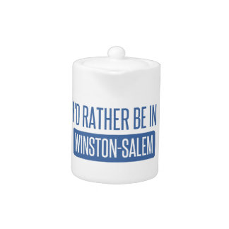 I'd rather be in Winston-Salem