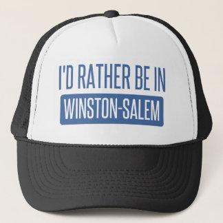I'd rather be in Winston-Salem Trucker Hat