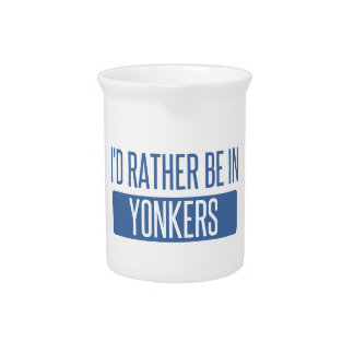 I'd rather be in Yonkers Pitcher