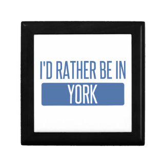 I'd rather be in York Gift Box