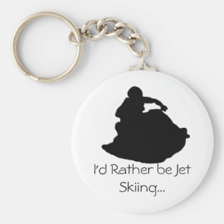 I'd Rather be Jet Skiing... Key Ring