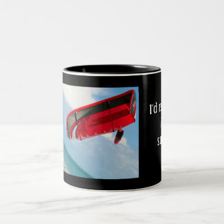 I'd rather be kite surfing coffee mugs