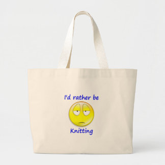 I'd Rather Be Knitting Bags