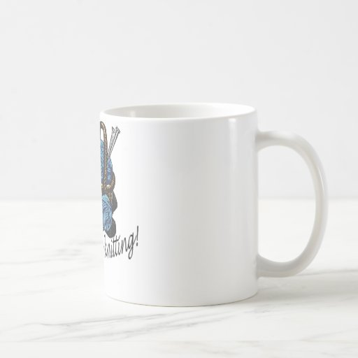 I'd rather be knitting! coffee mugs