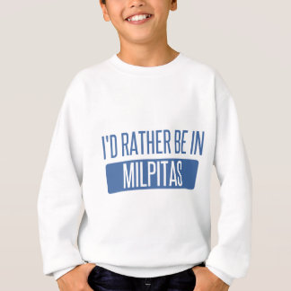 """I'd rather be""	""Milford""	""CT""	""CONNECTICUT""	""Milf Sweatshirt"