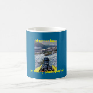 I'd rather be out taking photographs mug