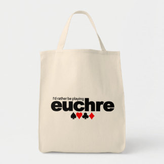 I'd Rather Be Playing Euchre bag - choose style