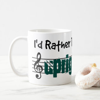I'd Rather Be Playing My Upright Bass Coffee Mug