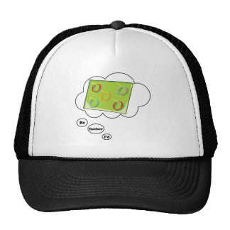 I'd rather be playing Ring Toss Mesh Hat