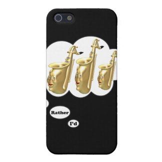 i'd rather be playing Saxophone 2 iPhone 5/5S Covers