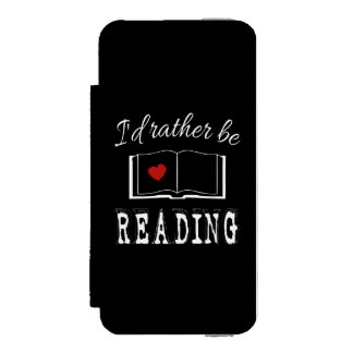 I'd rather be reading incipio watson™ iPhone 5 wallet case