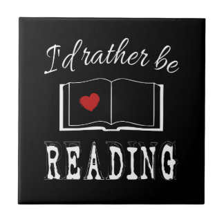I'd rather be reading tile