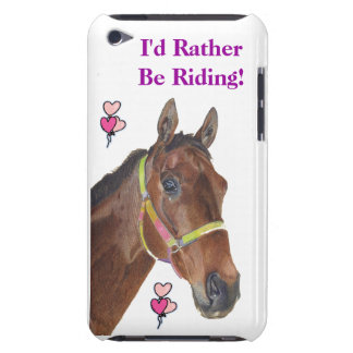 I'd Rather Be Riding! Equestrian Horse Case-Mate C Case-Mate iPod Touch Case