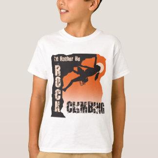 I'd Rather Be Rock Climbing Gals T-Shirt