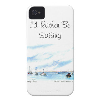 I'd Rather Be Sailing - Monterey California iPhone 4 Case-Mate Case